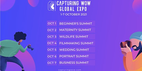 Capturing WOW  Global Expo 2021 tickets