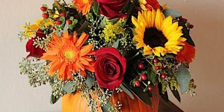 Pumpkin Fun - Fall Floral Workshop at Graduate Annapolis tickets