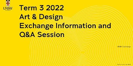 Art & Design  Exchange Information Session tickets