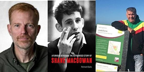 A FURIOUS DEVOTION: The life of Shane MacGowan with author Richard Balls tickets