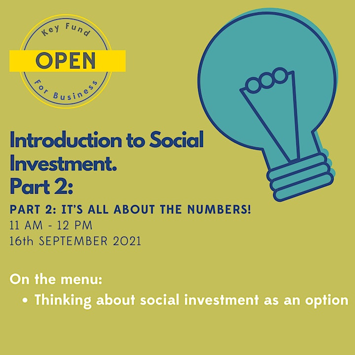 Introduction to Social Investment PRT2 image
