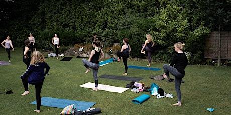 Outdoor Yoga - Beautiful secret garden Ballsbridge  ☀️ tickets