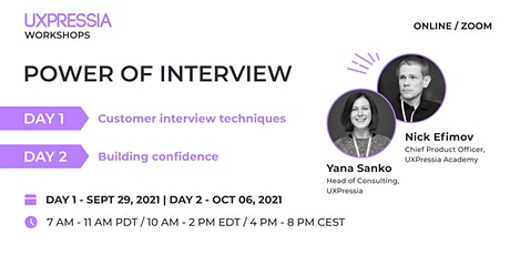 Power of Interview tickets