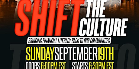 Shift The Culture T.O.: Bringing Financial Literacy Back to Our Communities tickets