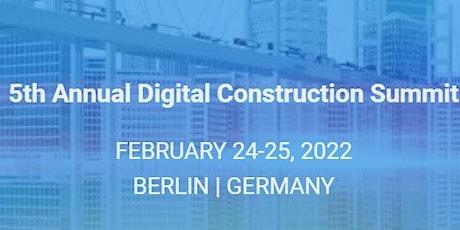 5th Annual Digital Construction Summit Tickets
