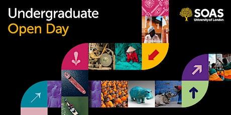 Undergraduate Open Day (On-Campus) tickets