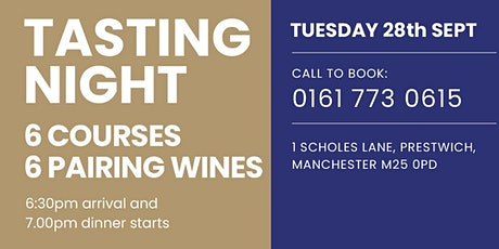 Wine and Food Tasting Event tickets