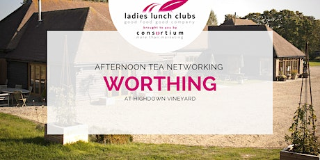 Worthing Ladies Lunch Club Afternoon Tea - 13th October 2021 tickets