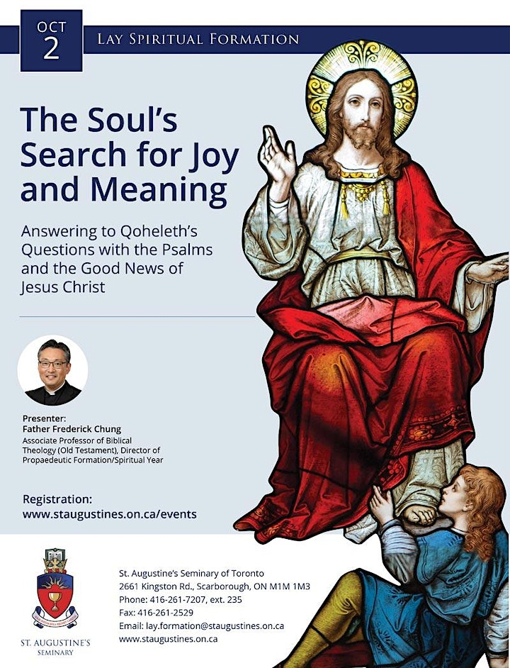 Lay Formation Online: The Soul's Search for Joy and Meaning image