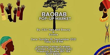 Baobab pop-up market Tickets