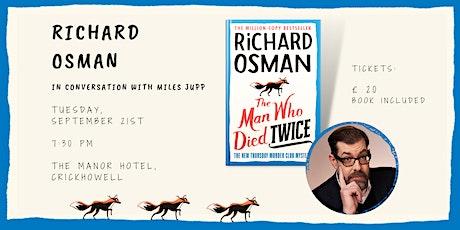 An evening with Richard Osman tickets