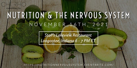Nutrition & The Nervous System tickets