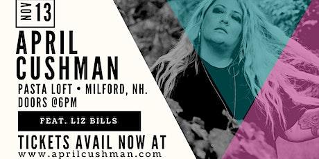 April Cushman Band at Pasta Loft feat Liz Bills tickets