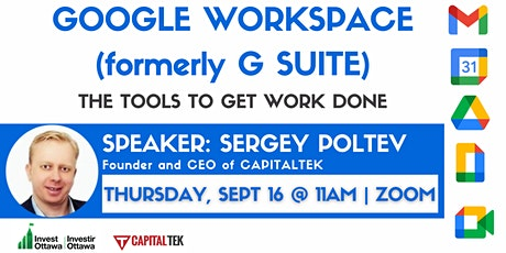 Google Workspace (G Suite) - The tools to get work done Tickets