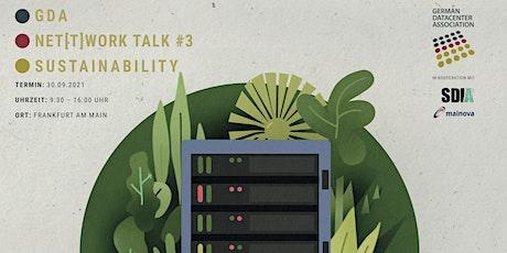 GDA Net(t)work Talk #3 - Sustainability Tickets