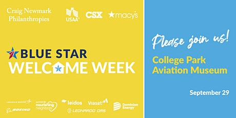 Blue Star Welcome Week Event at College Park Aviation Museum tickets