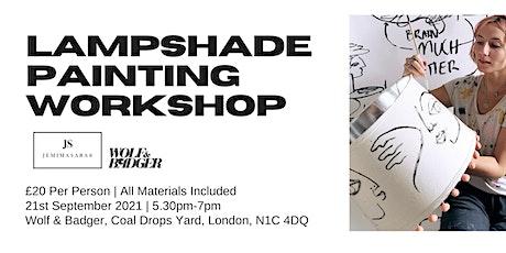Jemimasara: Lampshade Workshop London Design Festival tickets