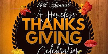14th Annual A Homeless Thanksgiving tickets