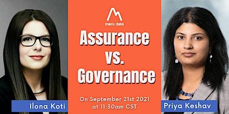 Assurance vs. Governance tickets