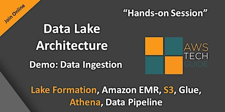 AWS Data Lake Architecture for a Production ready system tickets