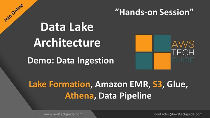 AWS Data Lake Architecture for a Production ready system image