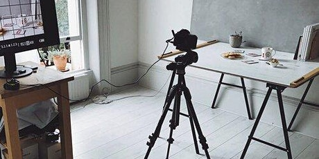 Product photography and styling from home tickets