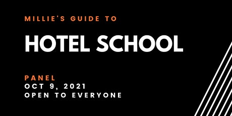 PANEL | Millie's Guide to Hotel School tickets