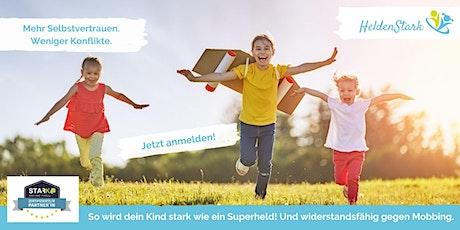 HeldenStark - Selbstbehauptungstraining für Grundschulkinder Tickets