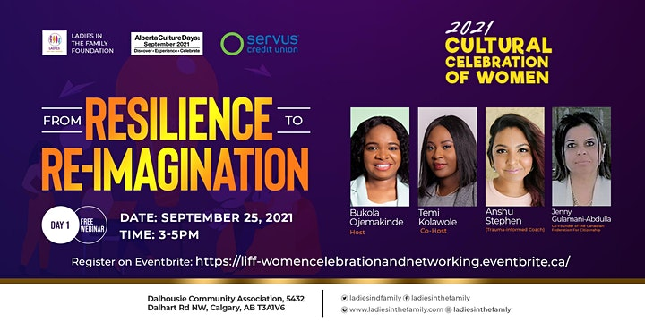 """Cultural Celebration for Women: """"From Resilience to Re-imagination"""" - Day 1 image"""