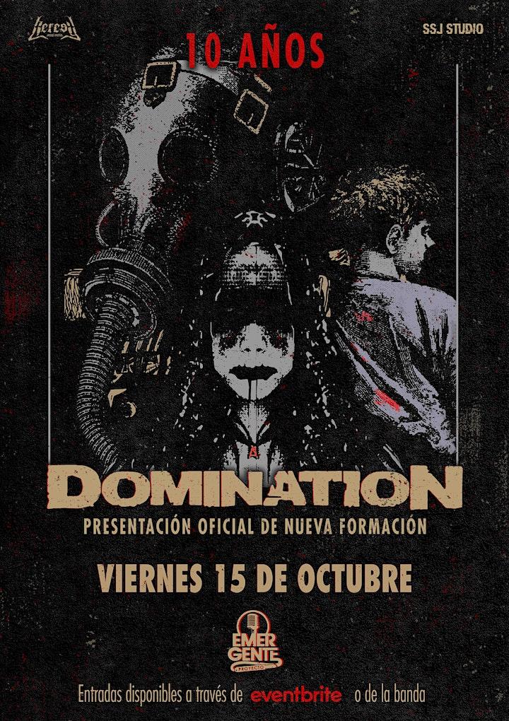Imagen de Domination - 10 Años