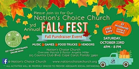 3rd Annual Fall Fest 2021 tickets