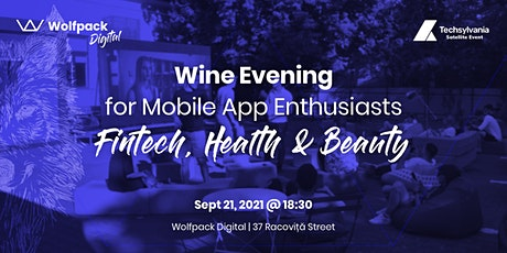 Wine Evening for Mobile App Enthusiasts: Fintech, Health & Beauty tickets