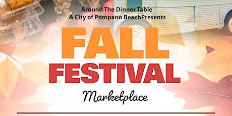 Fall Festival Marketplae tickets