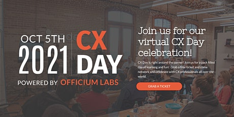 Customer Experience (CX) Day Hosted By Officium Labs Tickets