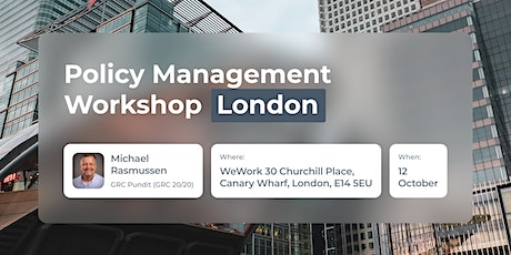 Policy Management Workshop - London tickets