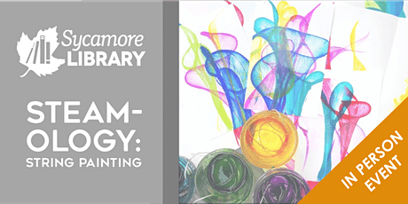 STEAM-OLOGY: String Painting tickets
