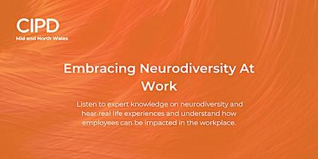 Embracing Neurodiversity At Work tickets