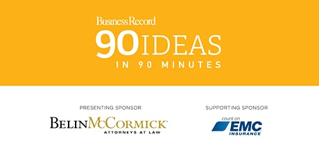 90 Ideas in 90 minutes-2021 tickets