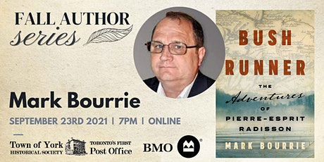 Fall Author Series: Mark Bourrie tickets