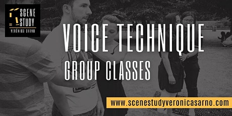 Voice Technique for the Spoken Voice - Weekly Classes tickets