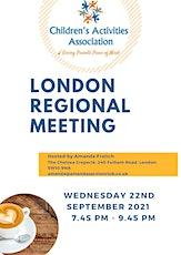 CAA London Meeting tickets