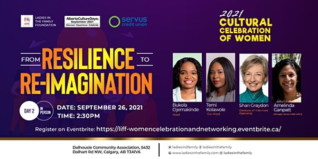 """Cultural Celebration for Women: """"From Resilience to Re-imagination"""" - Day 2 tickets"""