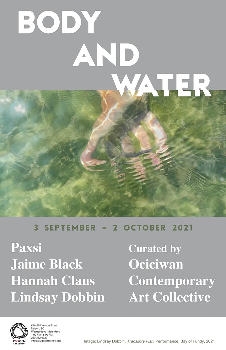 Body and Water: Artist Panel Discussion image