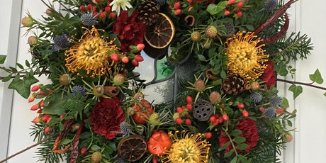 Christmas  wreath making course tickets