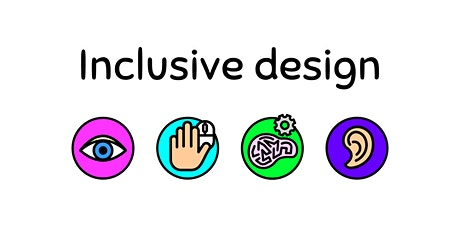 Inclusive design: How to make your designs accessible? - Part 1 tickets