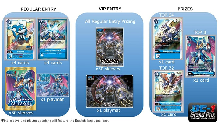 Digimon Card Game Premier TO DC-1 GP [Oceania] image