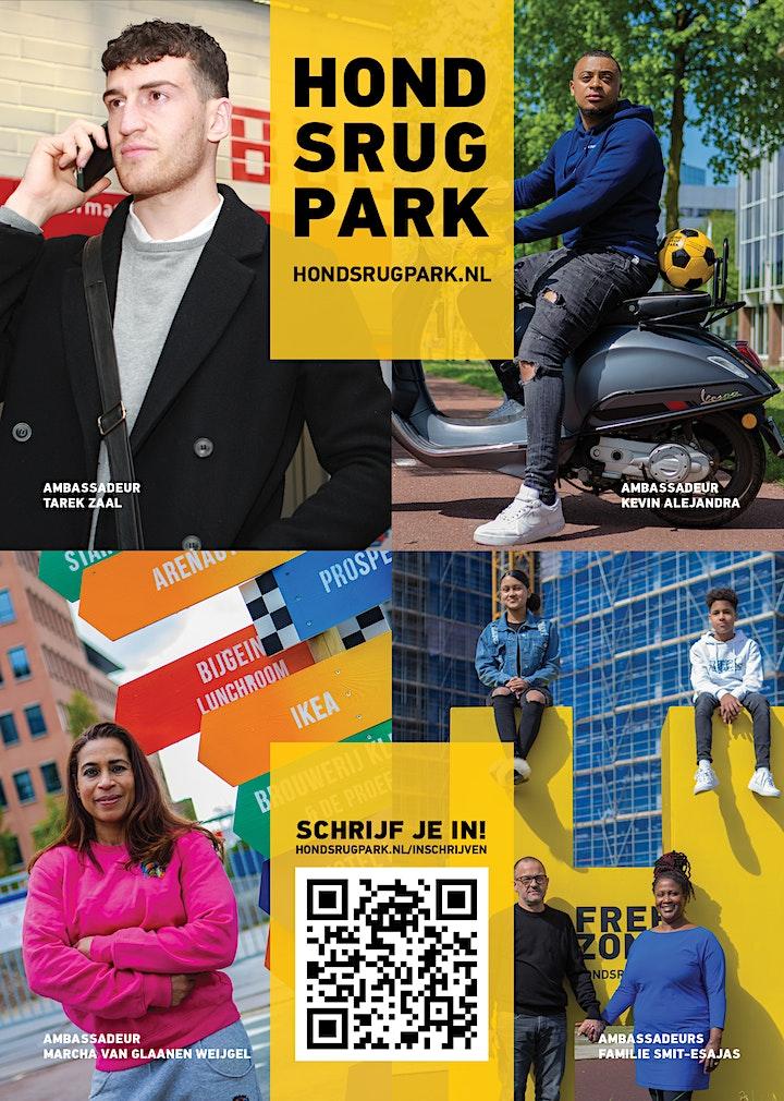 Afbeelding van Rondleiding door Hondsrugpark de nieuwe stadswijk in Amsterdam-Zuidoost