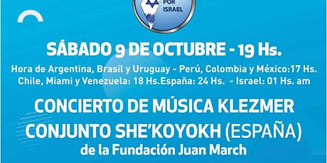 CONCIERTO DE MUSICA KLEZMER tickets