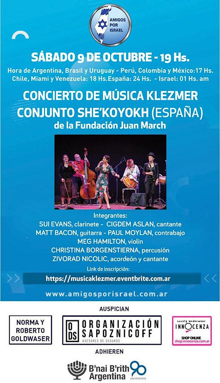 Imagen de CONCIERTO DE MUSICA KLEZMER
