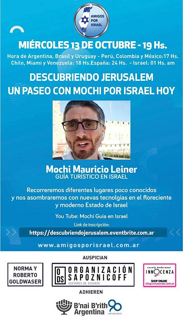 Imagen de DESCUBRIENDO JERUSALEM . UN PASEO CON MOCHI POR ISRAEL HOY